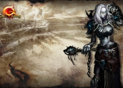 COG undead female wallpaper 1600 × 900